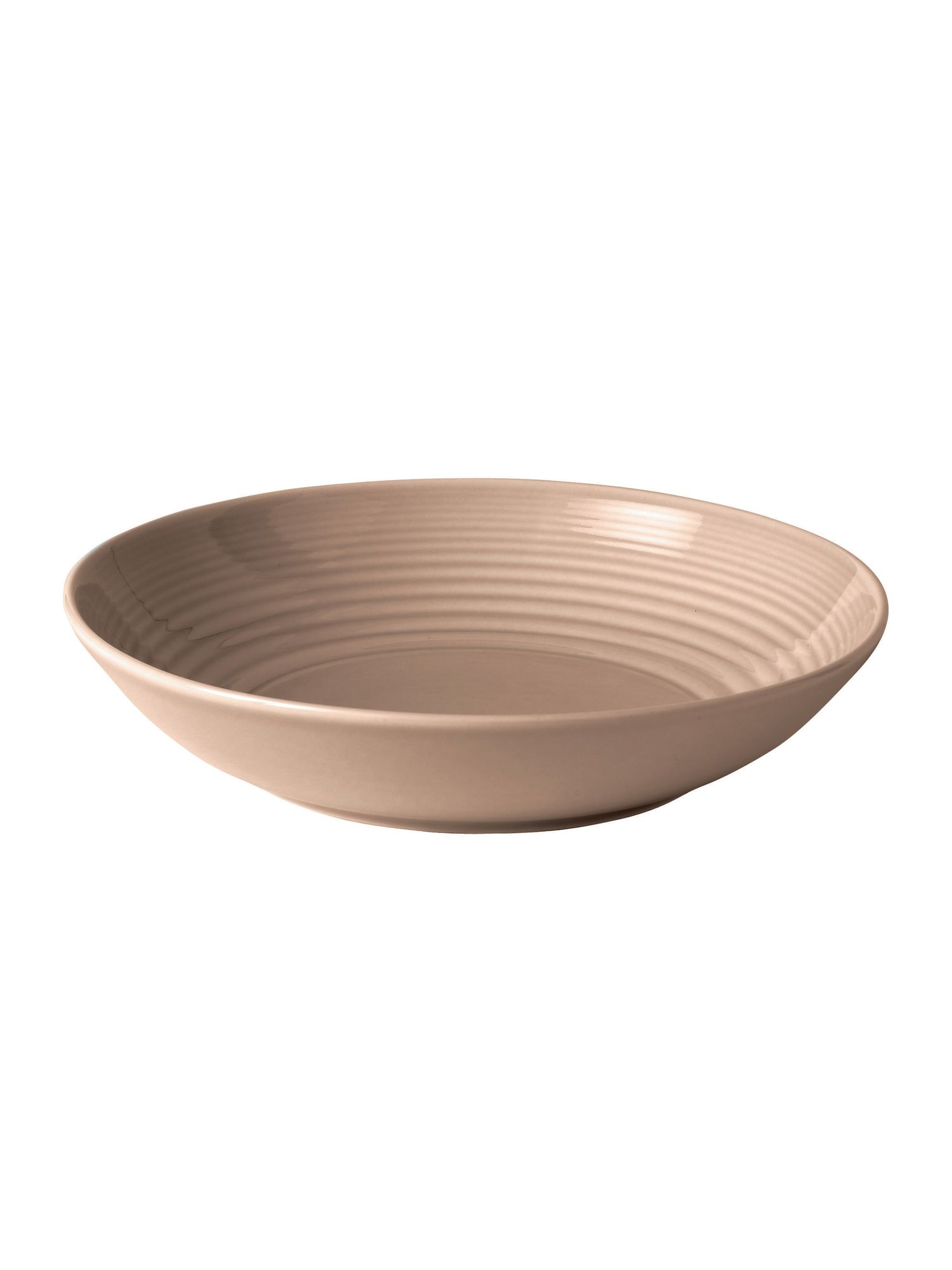 Gordon Ramsay maze taupe open vegetable bowl