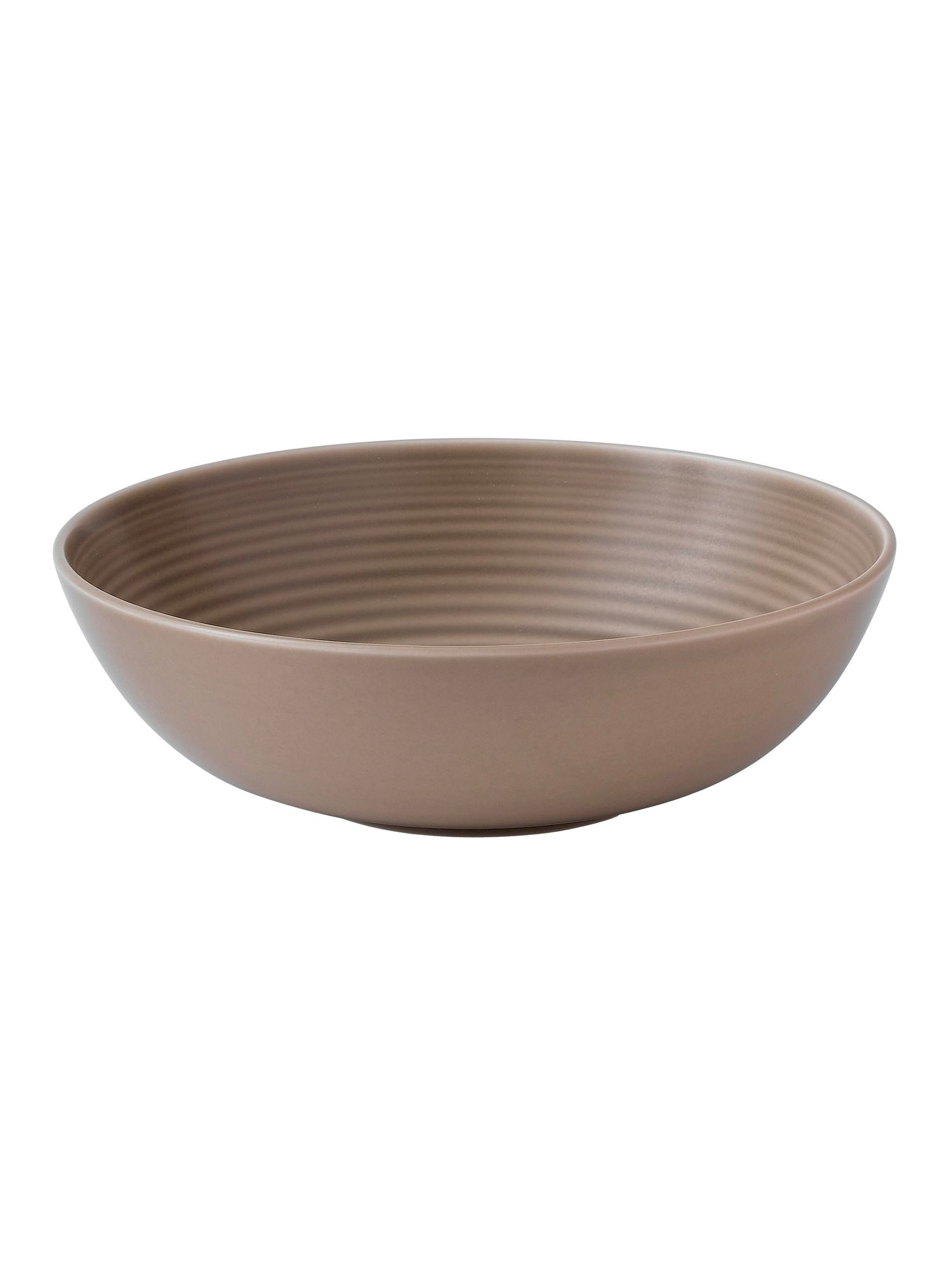 Gordon Ramsay maze taupe all purpose bowl