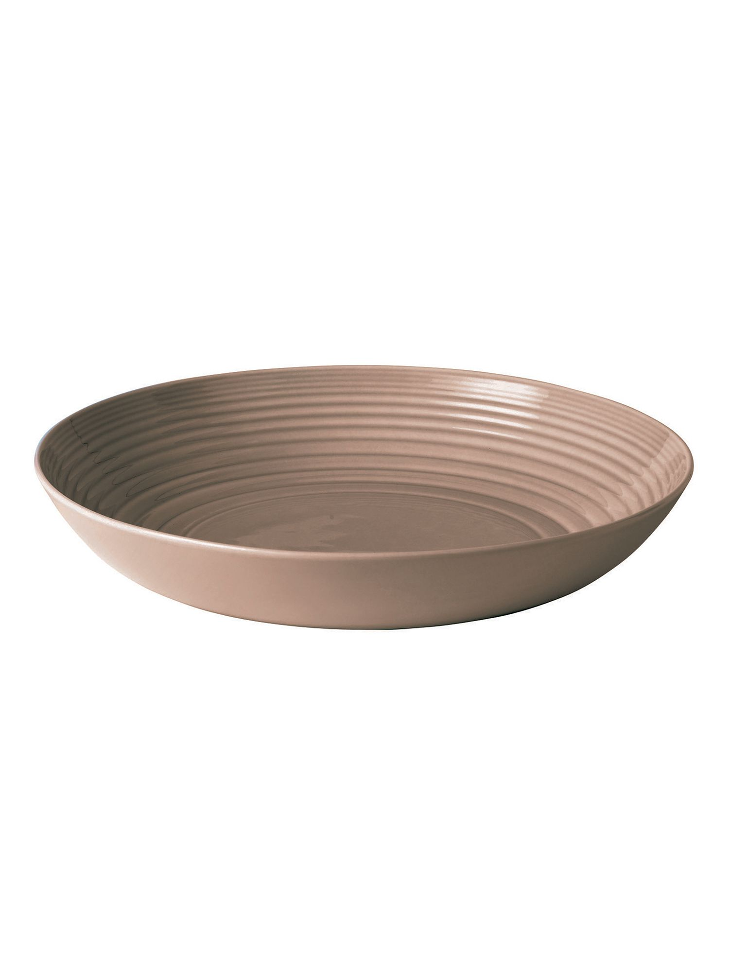 Gordon Ramsay maze taupe serving bowl