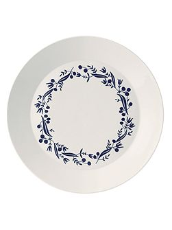Fable garland 31.5cm round platter