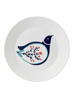 Fable bird accent plate 22cm