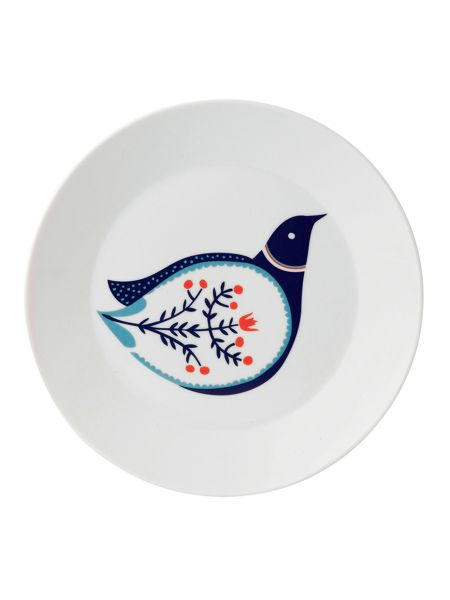 Royal Doulton Fable bird accent plate 22cm