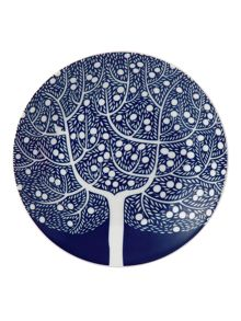 Royal Doulton Fable 16cm blue tree accent plate