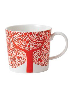 Fable red tree mug