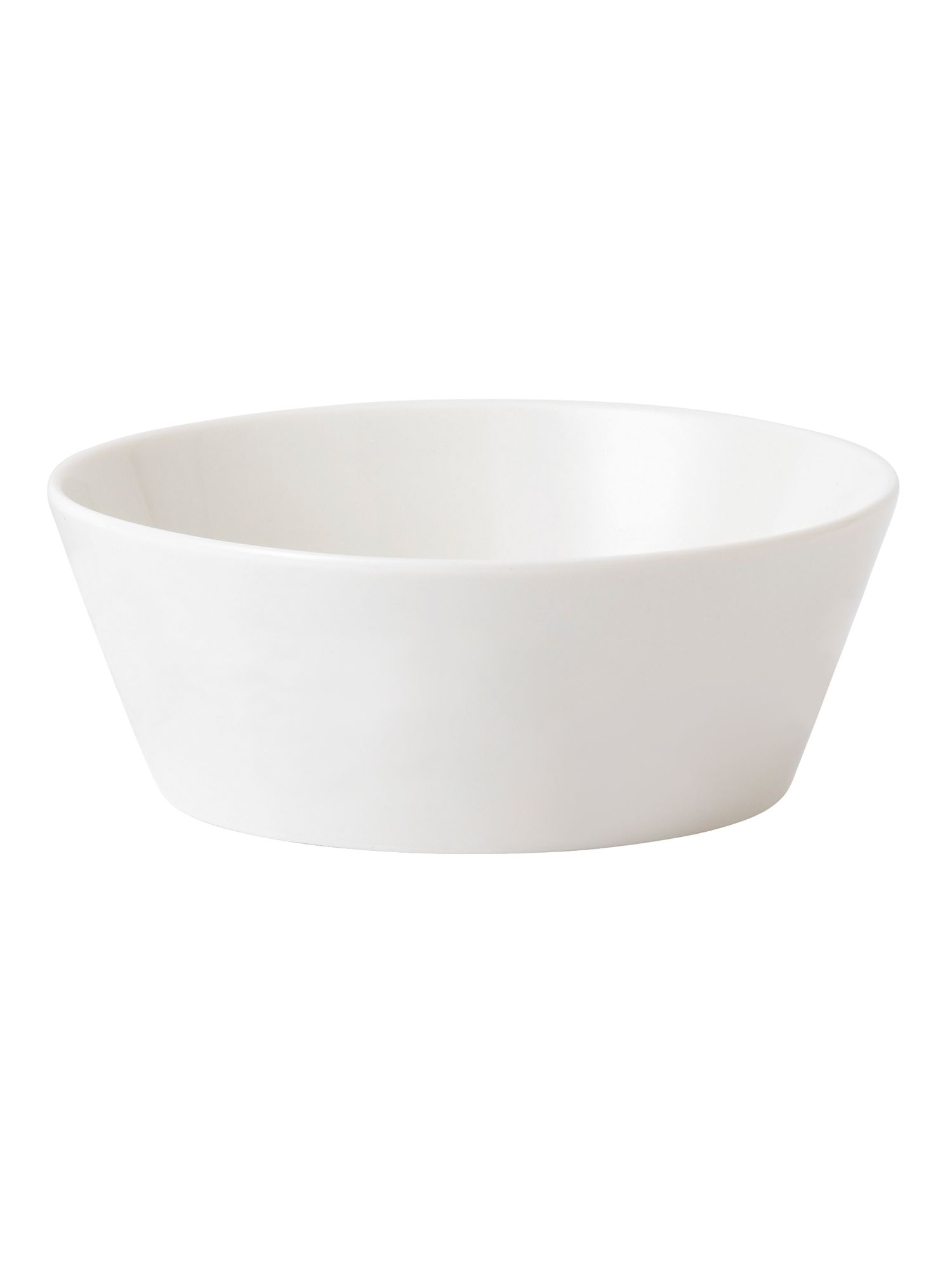Fable white 25cm serving bowl
