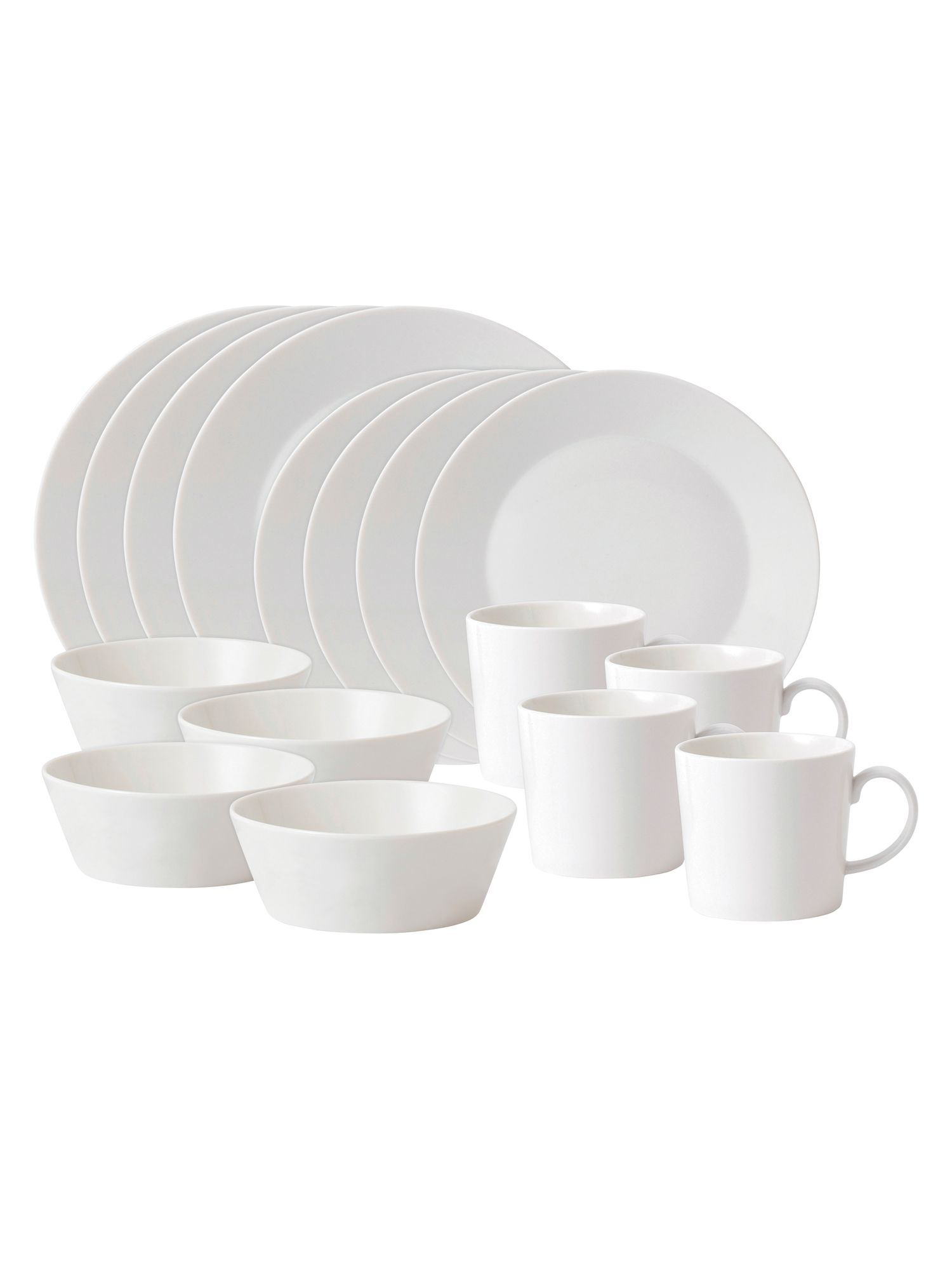Fable white 16 piece set