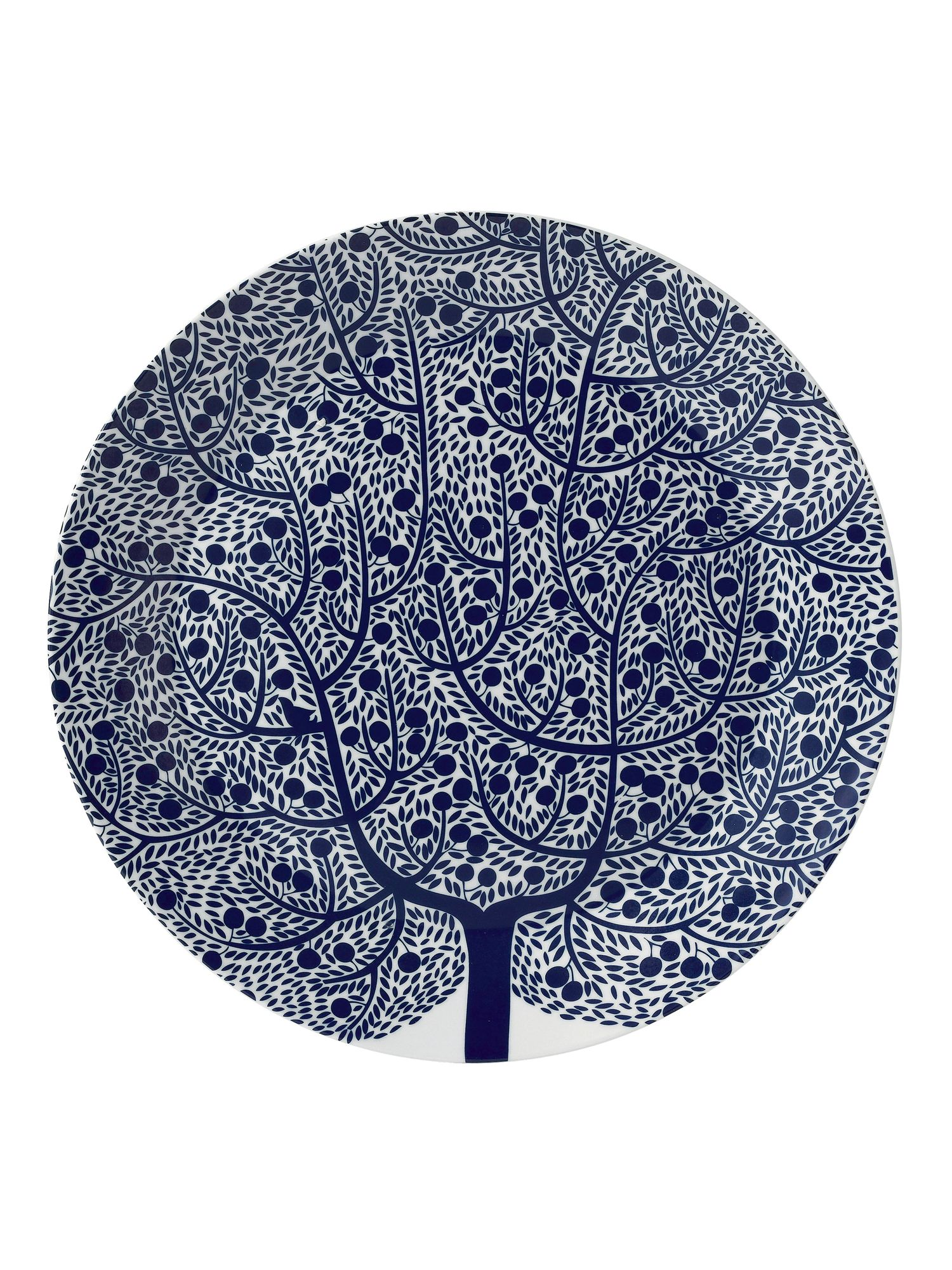 Fable tree 31.5cm round platter