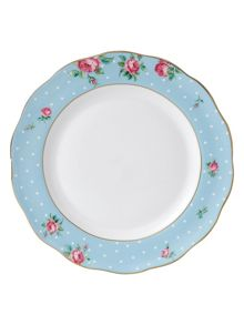 Royal Albert Polka blue plate 27cm