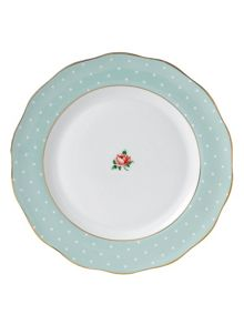Royal Albert Polka rose plate 27cm
