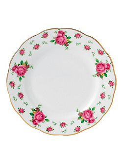 New country roses plate 16cm