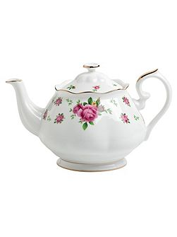 New country roses teapot