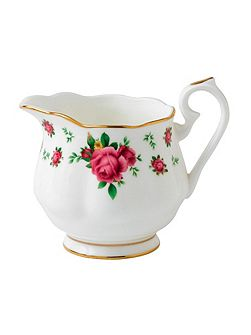 New country roses creamer large size