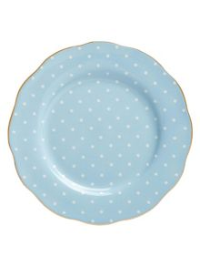 Royal Albert Polka blue plate 20cm