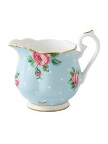 Royal Albert Polka blue creamer large size