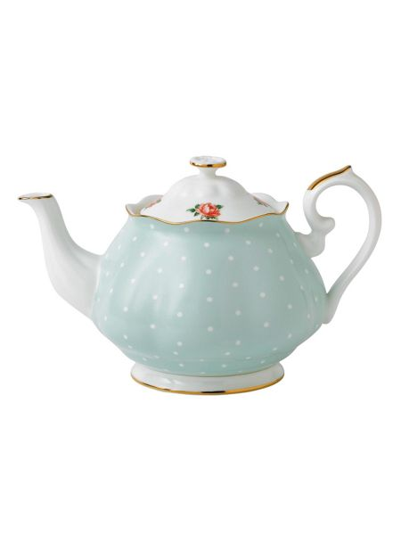 Royal Albert Polka rose teapot