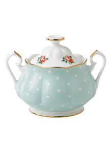 Royal Albert Polka rose covered sugar 0.35ltr