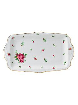 New country roses sandwich tray boxed