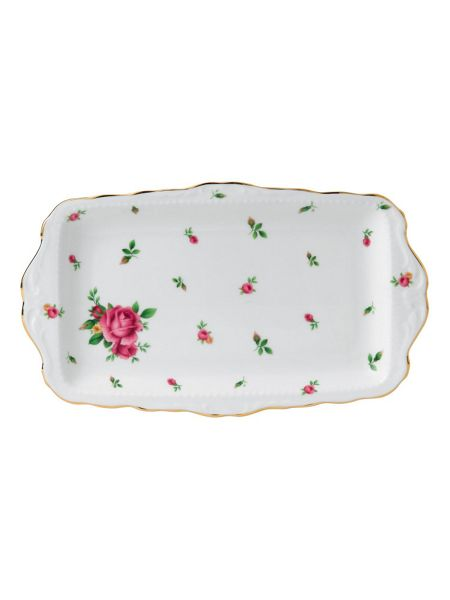 Royal Albert New country roses sandwich tray boxed