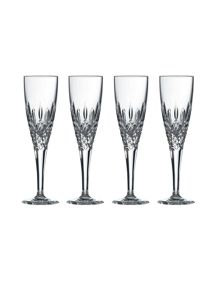 Royal Doulton Highclere box of 4 flutes