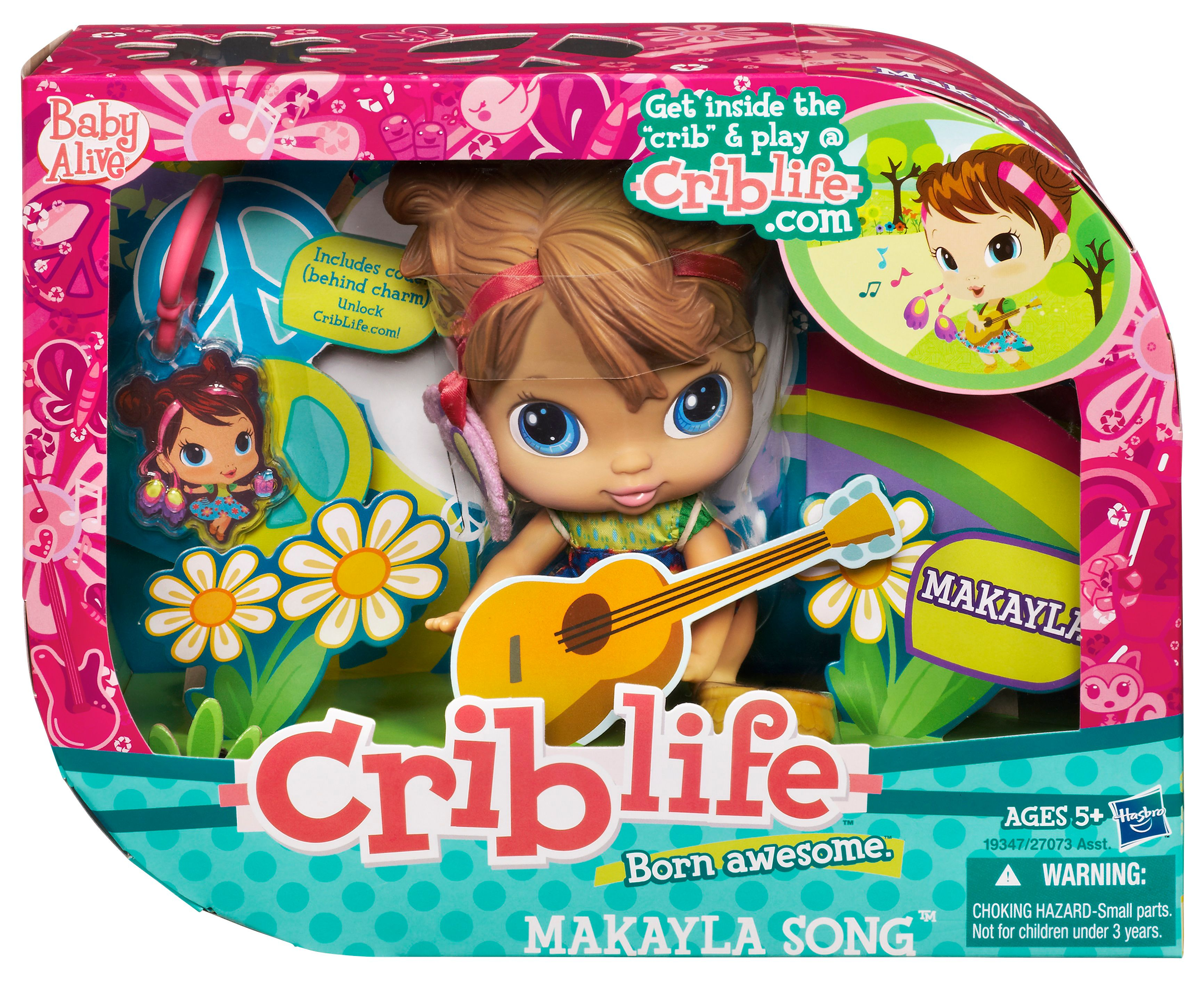 Baby Alive Crib Life Makayla Song Doll