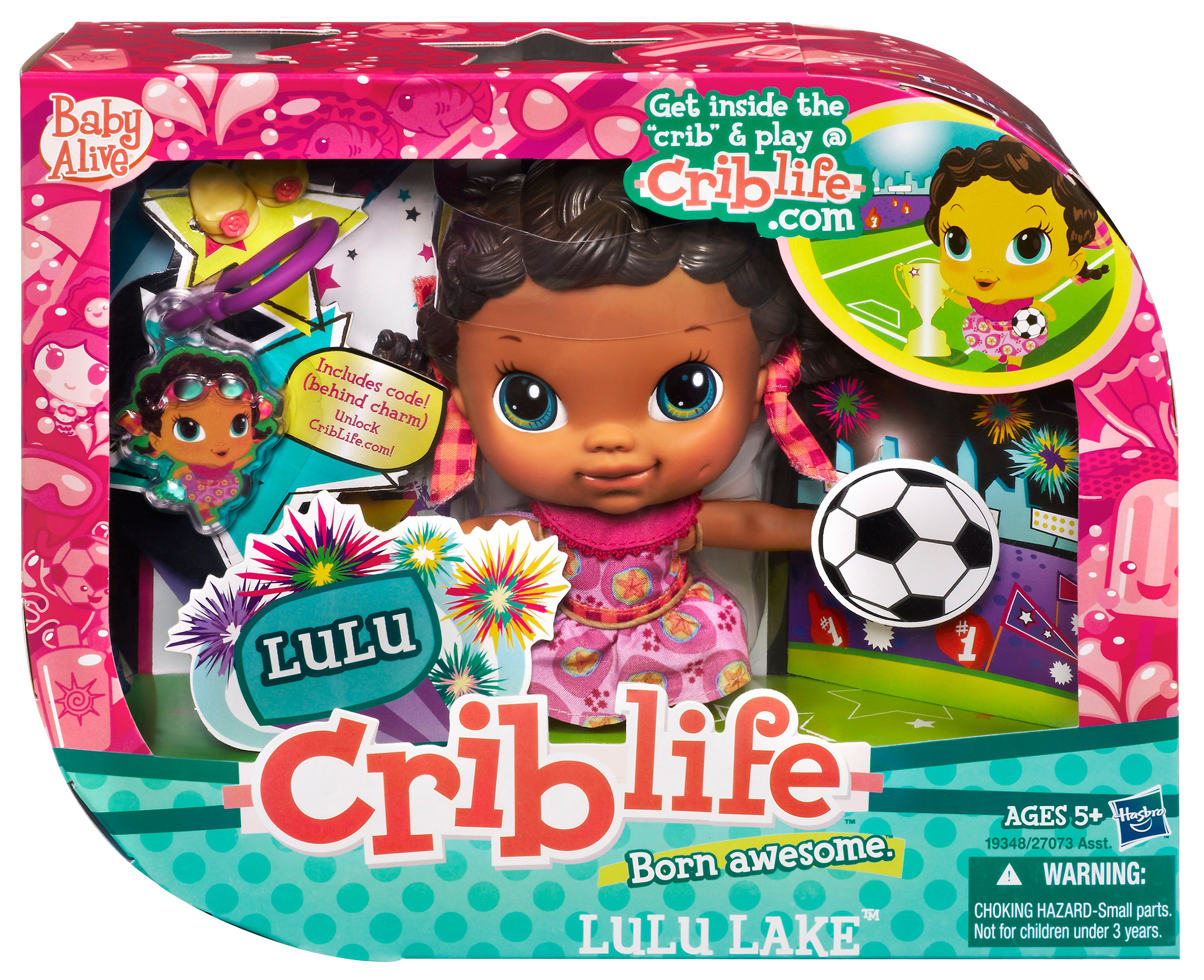 Baby Alive Crib Life Lulul Lake Song Doll