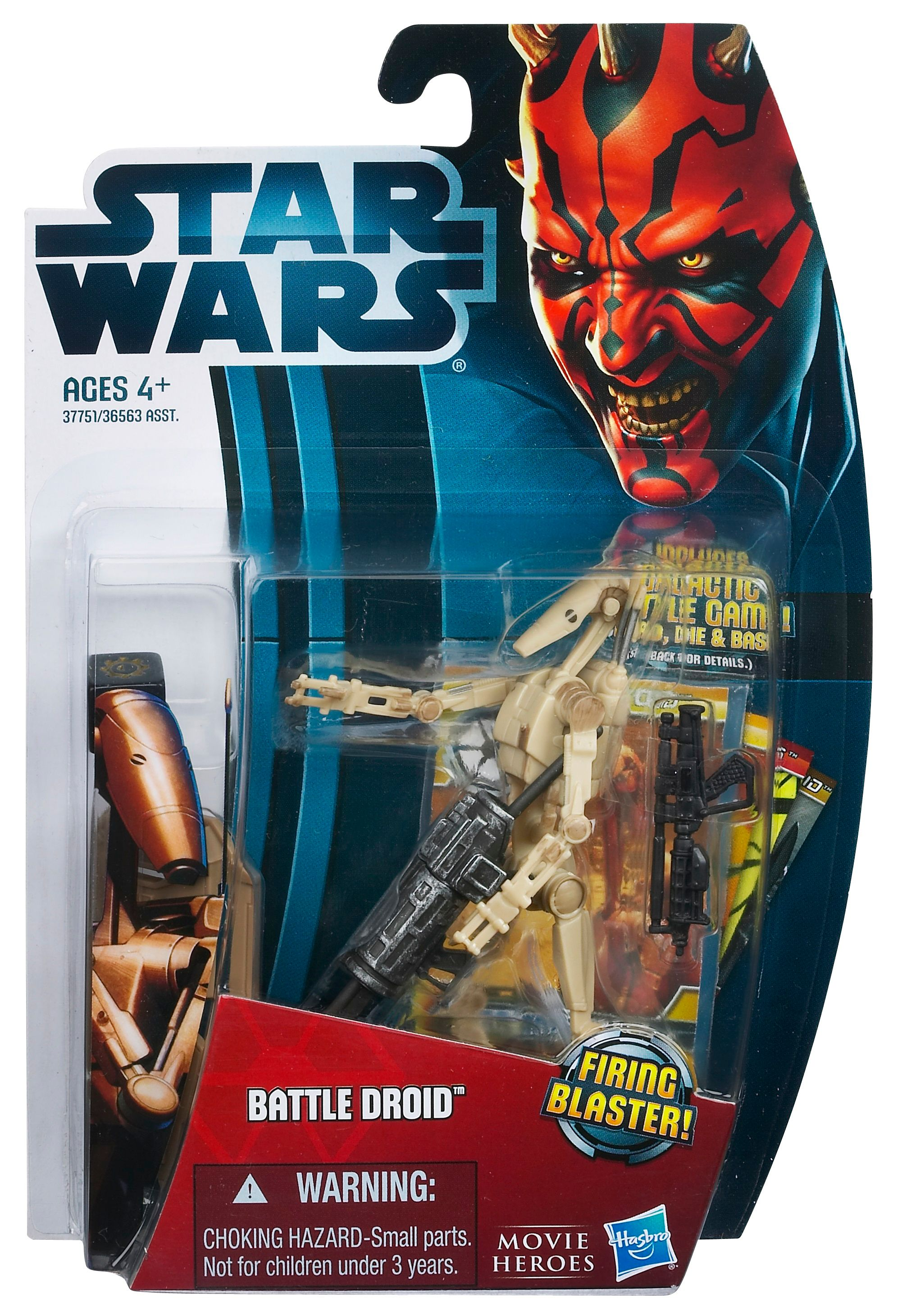 Star Wars Battle Droid Movie Heroes Figure