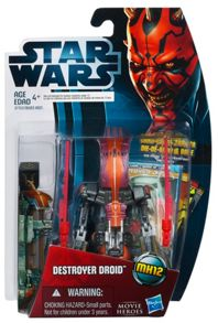 Star Wars Destroyer Droid  Movie Heroes Figure