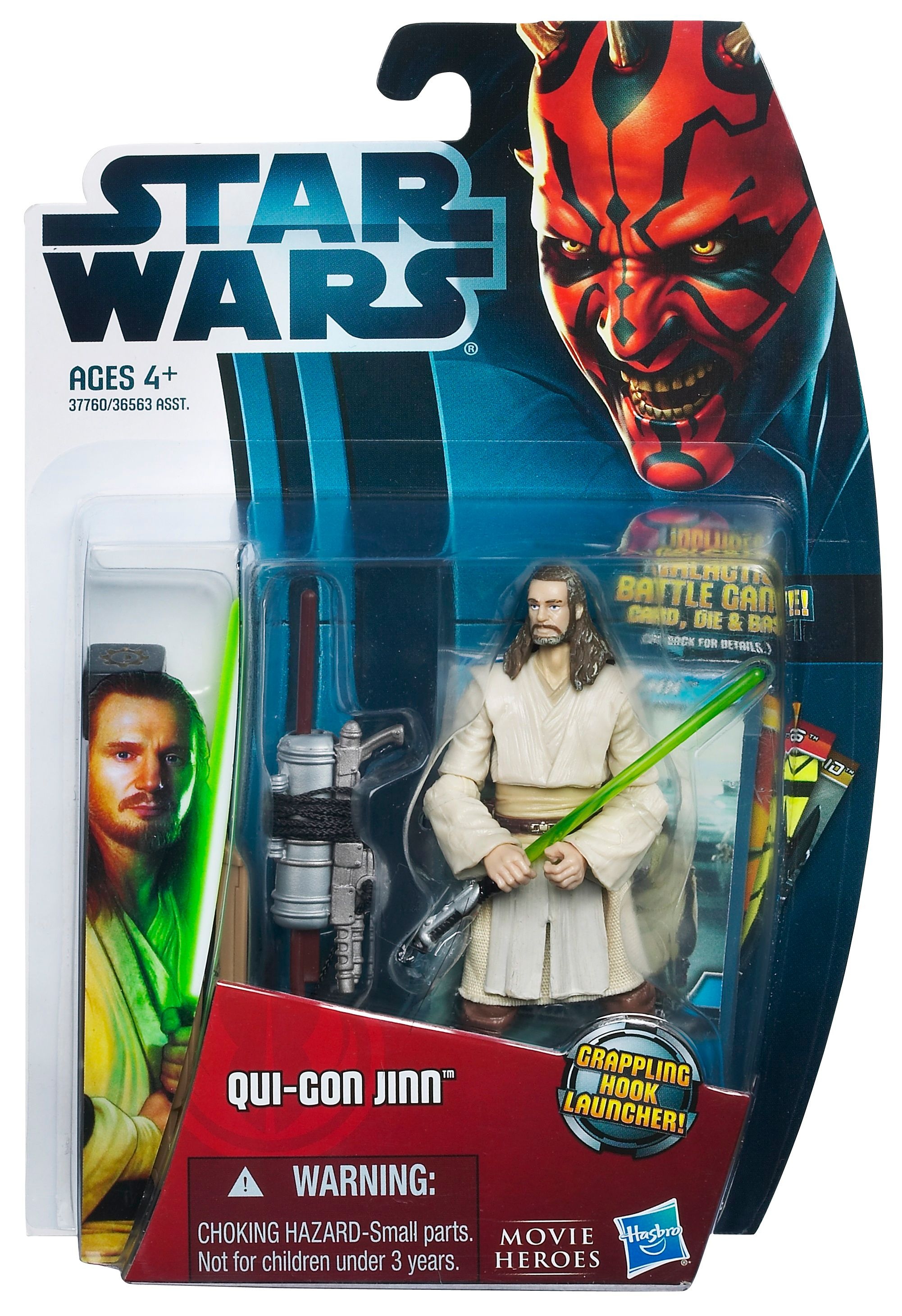 Star Wars Qui-Gon Jinn Movie Heroes Figure