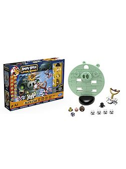 Angry Birds Jenga Death Star