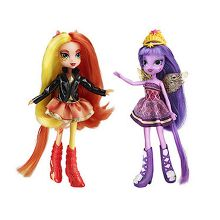 Equestria Girls 23cm Doll Two Pack