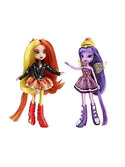 Equestria Girls Doll Two Pack