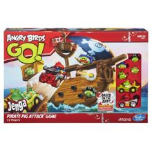 Angry Birds Go! Jenga Pirate Pig Attack