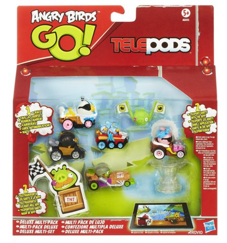 Angry Birds Go! Telepods - Deluxe Multi-Pack