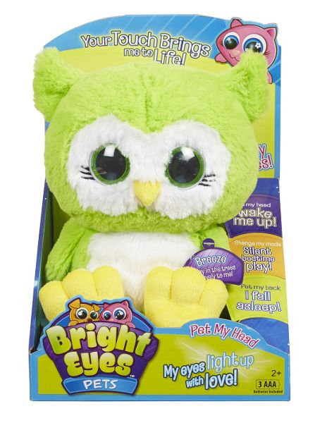 Bright Eyes Breeze the Owl Soft Toy