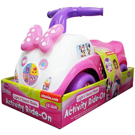 Minnie Mouse Minnie mouse light and sound activity ride-on