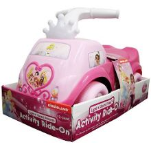Disney Princesses Light and sound activity ride-on