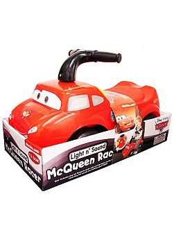 Light and sound mcqueen racer ride-on