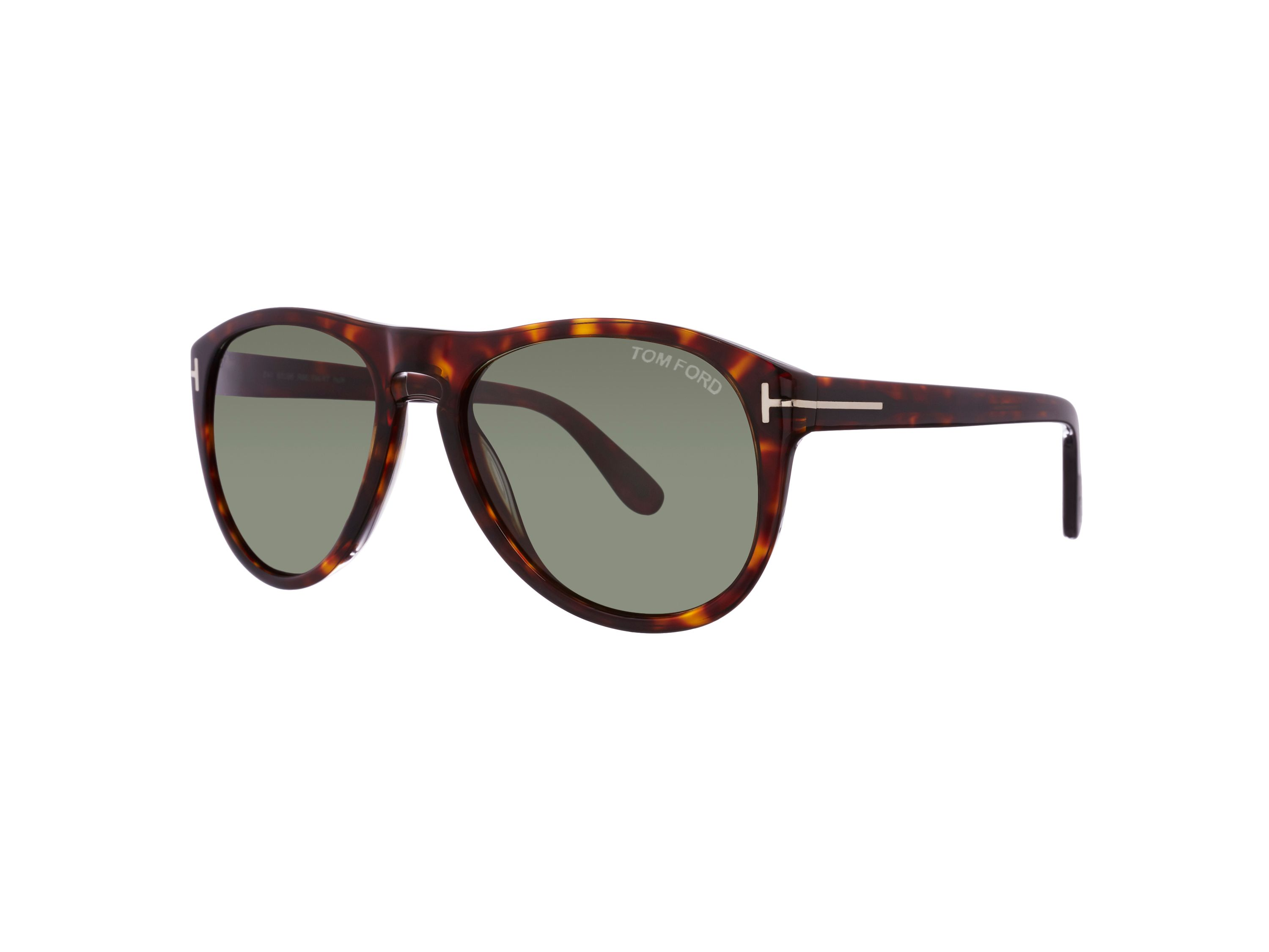 Men`s green square sunglasses