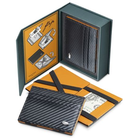 Grants of Dalvey Flip Wallet Carbon Fibre