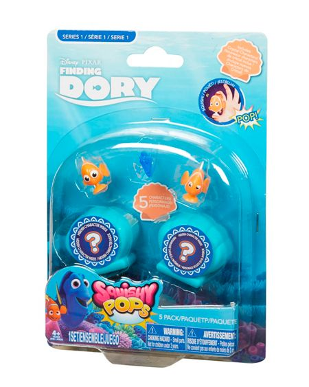 Disney Finding Dory Squishy Pops 5 Pack
