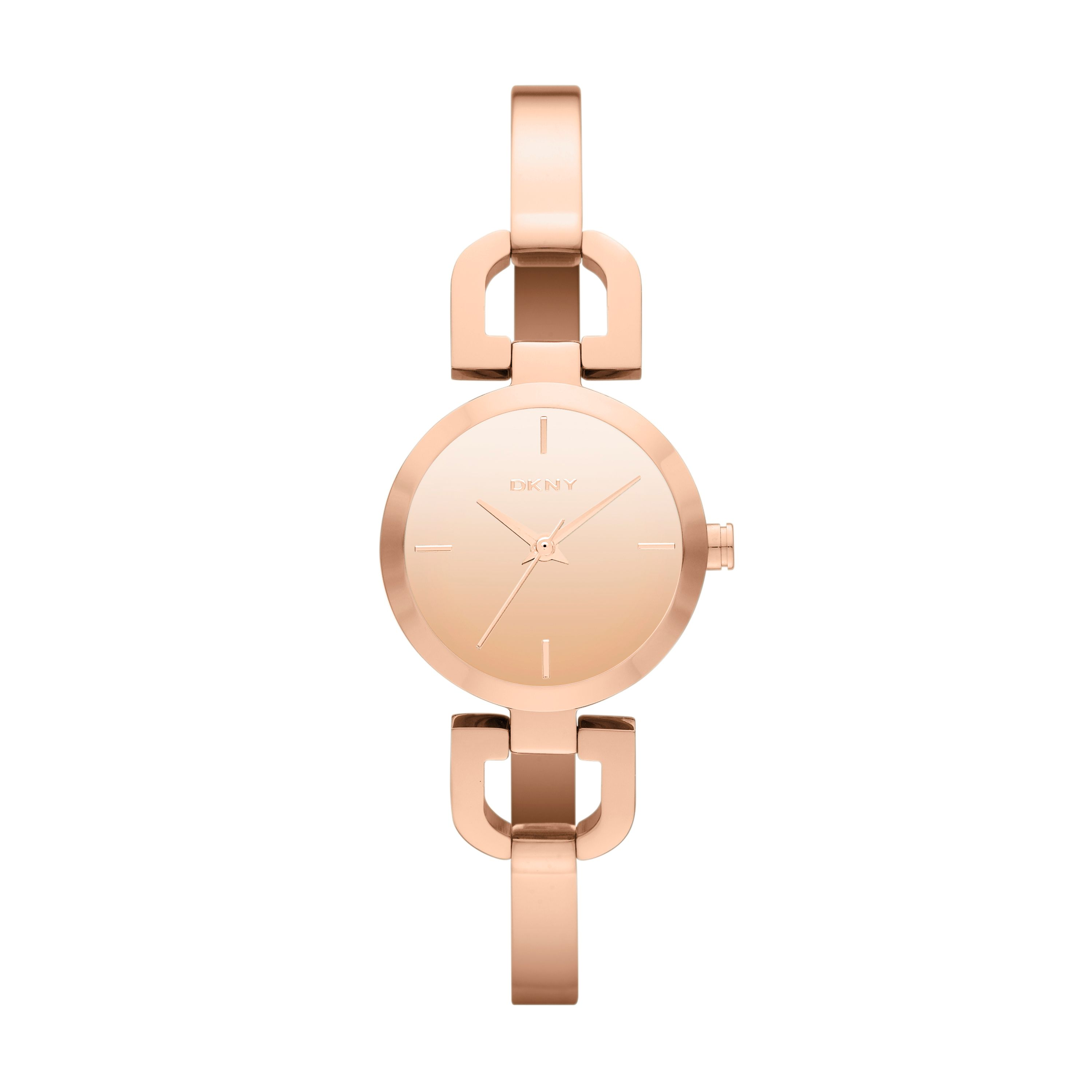 NY8871 Chic ladies rose gold bracelet watch
