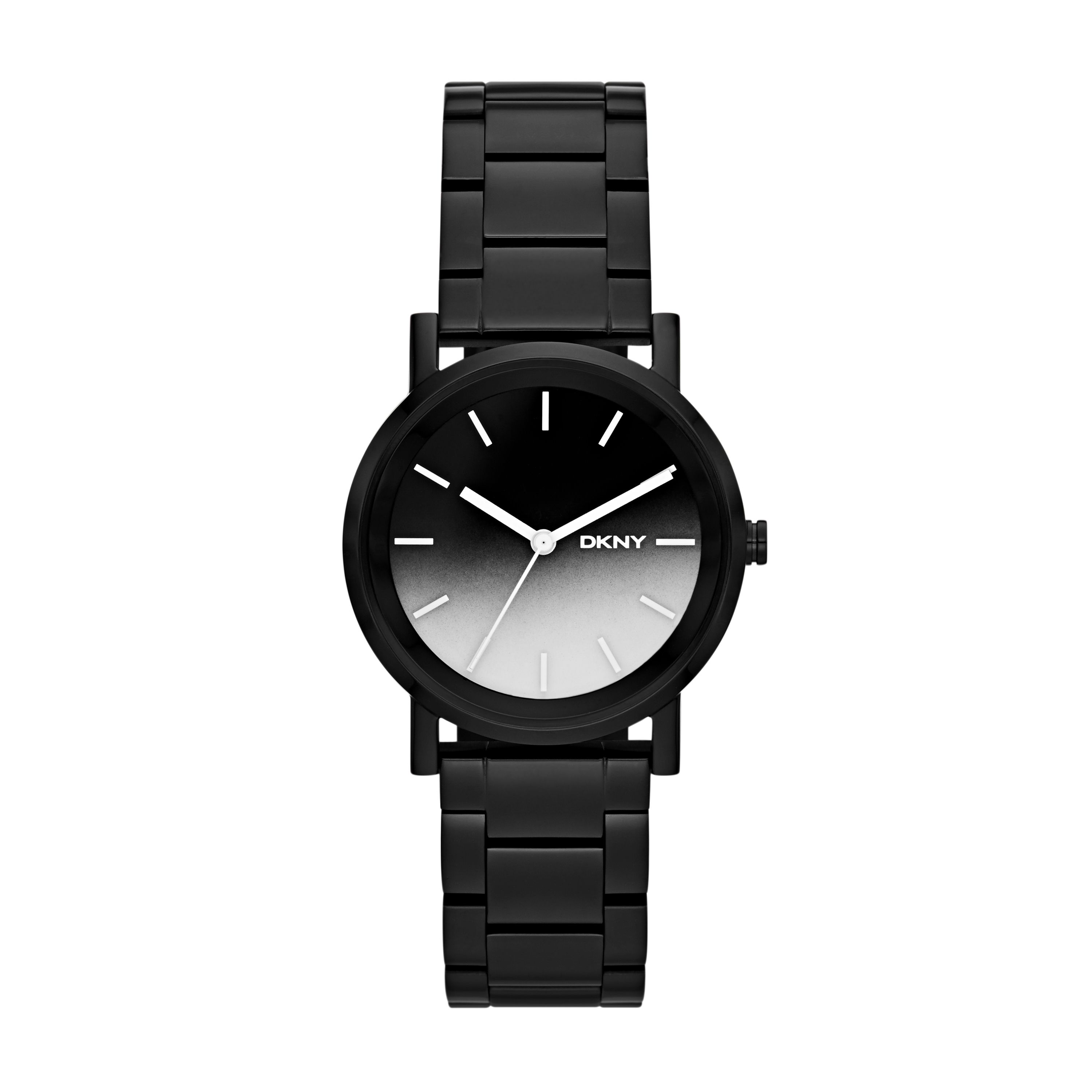 NY2184 Edge ladies black bracelet watch