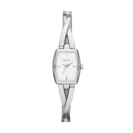 DKNY Chic Silver Crossover Ladies Watch