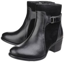 Hush Puppies Fondly nellie zip up ankle boots