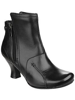 Lydie zip up ankle boots