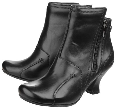 Hush Puppies Lydie zip up ankle boots