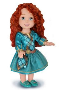 Disney Princesses Merida Toddler Doll