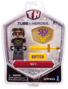 Tube Heroes Sky Figure With Accessories