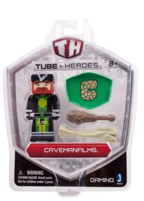 Tube Heroes Caveman Films Figure With Accessories