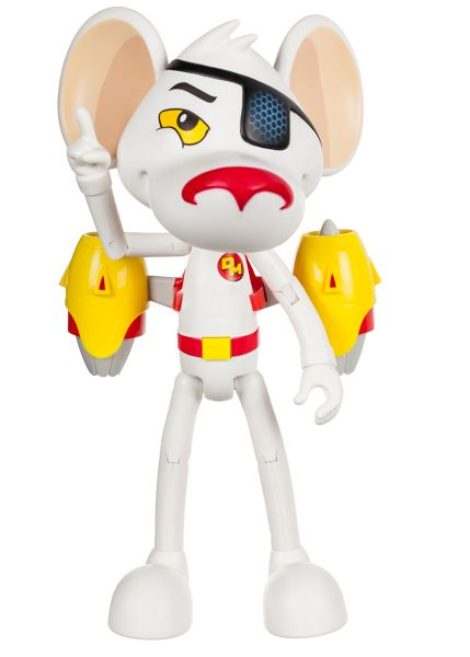 Danger Mouse 25cm Talk & Pose Action Figure
